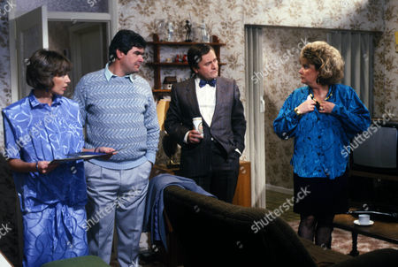 'Who's Our Little Jenny Lind?'   TV Kathy Jamieson as April Bray, Geoffrey Leesley as George Bray, Peter Childs as Len Webber and Lill Roughley as Doreen Webber