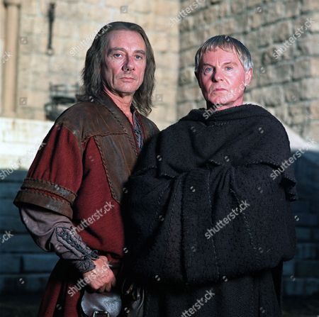 'Cadfael'   TV 'The Raven in the Foregate' Tom Georgeson and Derek Jacobi