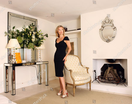 Editorial picture of Jenny Dyer at her home in Notting Hill, London, Britain - 05 Aug 2008