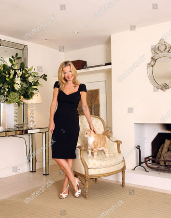 Editorial photo of Jenny Dyer at her home in Notting Hill, London, Britain - 05 Aug 2008