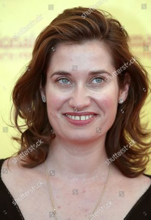 French Actress Emmanuelle Devos Smiles at the End of a Press Conference Held on Monday 06 September 2004 to Present the Film 'Gilles' Wife' Directed by Frederic Fonteyne Which Will Be Screened Later Today out of Competition at the 61st International Exhibition of Cinema Art Better Known As Venice Film Festival Italy Venice
