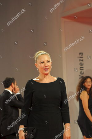 Talian Actress Iaia Forte Poses For a Photo on the Red Carpet Prior to the Screening of the Film 'Il Seme Della Discordia' (the Seed of Discord) Directed by Italian Pappi Corsicato Running in Competition at the 65th International Venice Film Festival in Venice Italy on 05 September 2008 Italy Venice