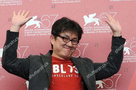 Stock Photo of Chinese Co-director Su Chao-pin Poses During the Photocall For His Movie 'Jianyu (reign of Assassins)' at the 67th Annual Venice Film Festival in Venice Italy 03 September 2010 the Movie by Chinese Director John Woo is Presented out of Competition at the Festival Running From 01 to 11 September Italy Venice