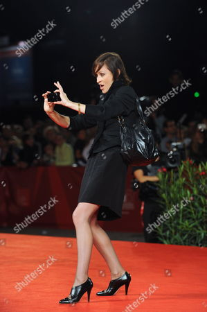 German Actress/cast Member Sophie Rois Arrives For the Premiere of the Movie 'Drei' at the 67th Annual Venice Film Festival in Venice Italy 10 September 2010 the Movie by German Director Tom Tykwer is Presented in the International Competition 'Venezia 67' at the Festival Running From 01 to 11 September Italy Venice