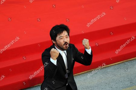 Japanese Director Takashi Shimizu Arrives For the Premiere of the Movie 'Barney's Version' at the 67th Annual Venice Film Festival in Venice Italy 10 September 2010 the Movie by Canadian Director Richard J Lewis is Presented in the International Competition 'Venezia 67' at the Festival Running From 01 to 11 September Italy Venice