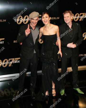 Anatole Taubman, Olga Kurylenko and Jesper Christensen