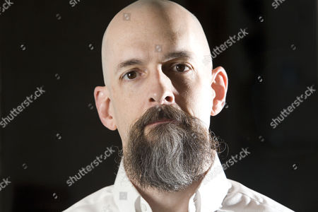 Editorial photo of Neal Stephenson at the Sumner Hotel, London, Britain - 17 Oct 2008