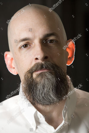 Editorial image of Neal Stephenson at the Sumner Hotel, London, Britain - 17 Oct 2008