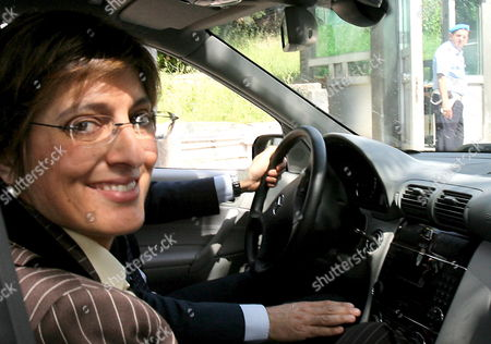Giulia Bongiorno the Lawyer of Prince Vittorio Emanuele Di Savoia the 69-year-old Son of Italy's Last King Arrives at the Prison where the Prince is Held in Potenza Italy Wednesday 22 June 2006 Prince Vittorio Emanuele Di Savoia was Arrested on Friday 16 June 2006 As Part of a Two-year Investigation Into Corruption and Prostitution Italy Potenza