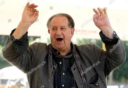 Italy's Director Tinto Brass Gestures As He Arrives in Venice on Tuesday 30 August 2005 Prior to Attend the 62nd Venice Film Festival Starting on 31 August Italy Venezia