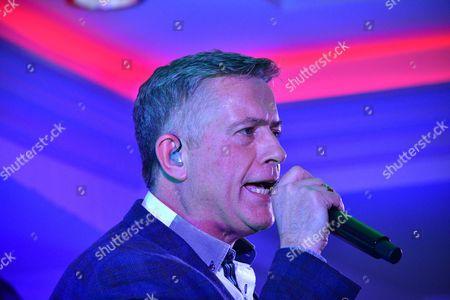 Editorial photo of Dominic Kirwin in concert, County Tyrone, Northern Ireland - 28 Jan 2017