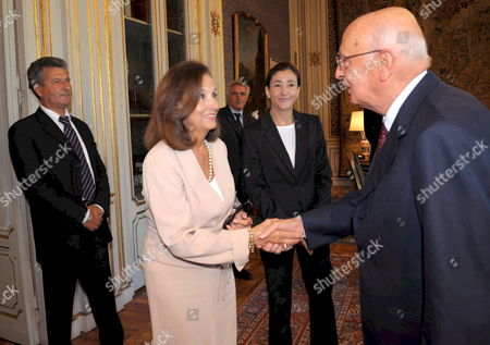 Editorial image of Italy Betancourt Meets President Napolitano - Sep 2008
