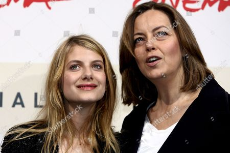 Actresses Melanie Laurent (l) and Greta Scacchi Present the Film 'L'amour Cach?' Directed by Alessandro Capone at the Rome Film Festival on 20 October 2007 in Rome Italy Italy Rome
