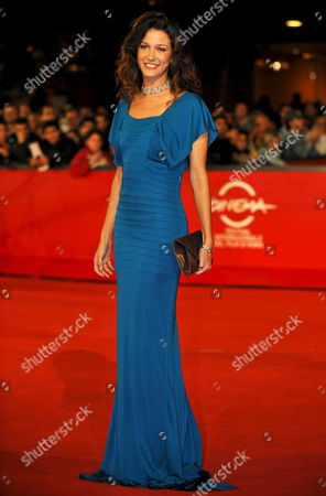 Spanish Actress Maria Jurado Poses As She Arrives at Rome's Park of the Music Auditorium For the Screening of the Film 'Il Passato E' Una Terra Straniera' (the Past is a Foreign Land) by Compatriot Daniele Vicari Late 26 October 2008 Presented in Competition at the 3rd Rome International Film Festival Elio Germano Plays in the Role of Giorgio the Film is About Two Youths - Giorgio and Francesco - with Quite Different Characters who Become Friends and Undertake an Adventure Together Italy Rome