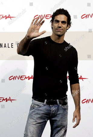 Italian Actor Tommaso Ramenghi Poses at the Photocall For Italian Director Matteo Rovere's Film 'Un Gioco Da Ragazze' During the International Film Festival in Rome Italy 25 October 2008 Italy Rome