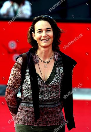French Actress Anne Coesens Poses For Photographers on the Red Carpet During the Rome International Film Festival in Rome on Wednesday 18 October 2006 She Presented 'Cages' a Film by Dirctor Olivier Masset-depasse Italy Rome