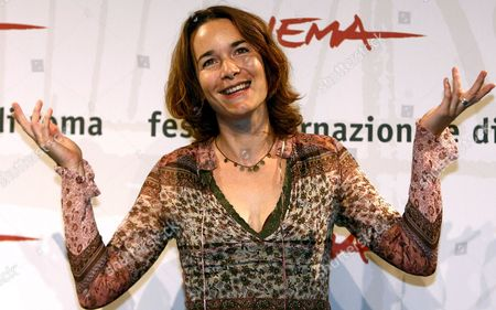French Actress Anne Coesens Poses For Photographers on Wednesday 18 October 2006 at the First Edition of Rome International Film Festival During the Presentation of the Film 'Cages' Directed by Olivier Masset-depasse Italy Rome