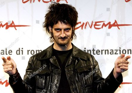 French Director Olivier Masset-depasse Poses For Photographers on Wednesday 18 October 2006 at the First Edition of Rome International Film Festival where He Presented His Film 'Cages' Italy Rome