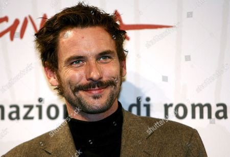 French Actor Sagamore Stevenin Poses For Photographers on Wednesday 18 October 2006 at the First Edition of Rome International Film Festival where He Presented 'Cages' Directed by Olivier Masset-depasse Italy Rome