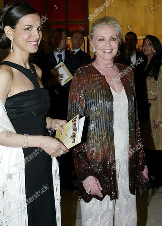 Italy's Virna Lisi (r) and Sandra Ceccarelli Arrive at Rome's 'Park of the Music' Auditorium on Friday 29 April 2005 For the Awarding Ceremony of the 'David Di Donatello 2005' Awards Which Are the Italian Equivalent of the Oscar Academy Awards Italy Rome