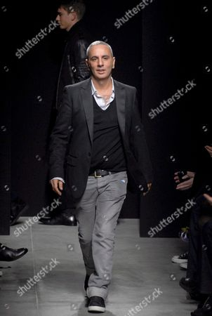 Editorial photo of Italy Fashion Week - Jan 2008