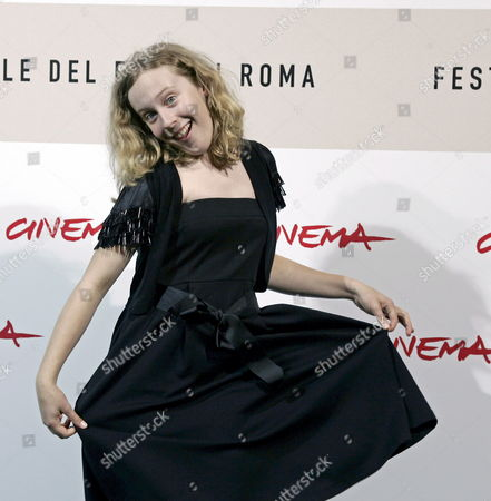 Stock Picture of Actress Lyle Elena Hudgins During the Photo Call of the Film 'Only' by Canadian Director Ingrid Veninger at the 3rd International Film Festival in Rome Italy 27 October 2008 Italy Rome