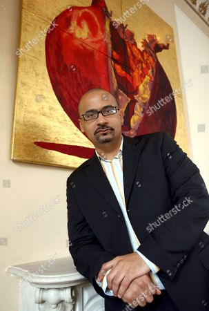 Dominican-american Writer and 2008 Pulitzer Price Winner Junot Diaz Poses During a Press Conference in Rome Italy 21 April 2008 Diaz Won the 2008 Pulitzer Prize For Fiction with His Book 'The Brief Wondrous Life of Oscar Wao' a Novel Diaz was Writing For 11 Years Although a Work of Fiction the Novel Draws Heavily From His Rough Childhood in New Jersey and His Homeland's Experience Under Dictator Rafael Trujillo Italy Rome