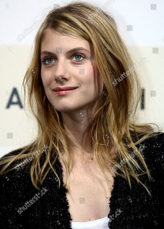 French Actress Melanie Laurent Poses For a Photo Prior to the Press Conference to Present the Film 'L'amour Cache' by Italian Director Alessandro Capone at the Rome Film Festival in Rome Italy 20 October 2007 Italy Rome