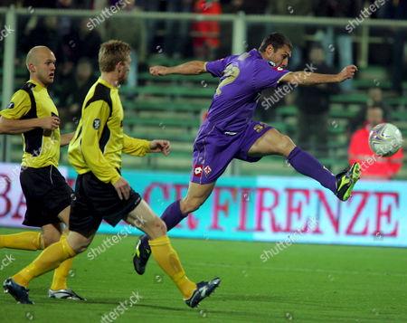 Editorial photo of Italy Soccer Uefa Cup - Nov 2007