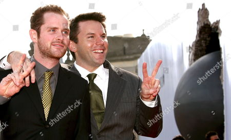 Actors Robert Devaney (r) and Patrick Carroll (l) Pose Prior to the Screening of the Film 'Redacted' For the Venice Film Festival in Venice Italy 31 August 2007 Italy Venice