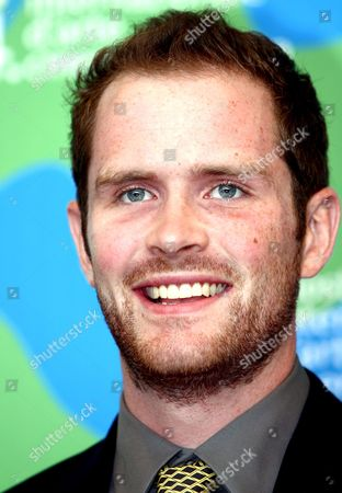The Actor Patrick Carroll Poses at the End of the Press Conference of the Presentation of 'Redacted' a Brian De Palma's Movie in Concourse For the Venice Film Festival in Venice Italy 31 August 2007 Italy Venice