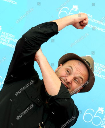 French Director Fabrice Du Welz Poses For Photographers During a Photocall For His Film 'Vinyan' Running out of Competition at the 65th International Film Festival of Venice 30 August 2008 in Venice Italy the Festival is Scheduled For 27 August to 06 September 2008 Italy Venice