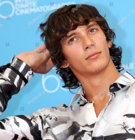 Italian Actor and Cast Member Federico Costantini Poses For Photographers After the Press Conference For Turkish-born Director Ferzan Ozpetek's Film 'Un Giorno Perfetto' Running in Competition at the 65th International Film Festival of Venice 30 August 2008 in Venice Italy the Festival is Scheduled For 27 August to 06 September 2008 Italy Venice
