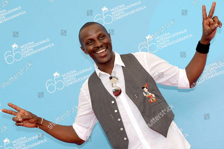 Actor and Cast Member Souleymane Sy Savane Poses For Photographers After the Press Conference For Us Director Ramin Bahrani's Film 'Goodbye Solo' Running in the 'Orizzonti' Section of the 65th International Film Festival of Venice 31 August 2008 in Venice Italy the Festival is Scheduled For 27 August to 06 September 2008 Italy Venice