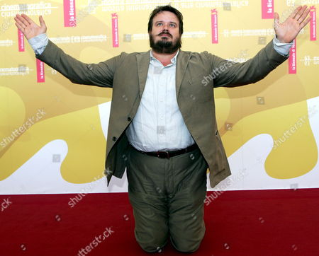 Italian Actor Giuseppe Battiston Poses For a Photo at the End of the Press Conference to Promote the Movie ''don't Take Any Date For Tonight' by Director Gianluca Maria Tavarelli at the Venice Film Festival Monday 04 September 2006 Italy Venice