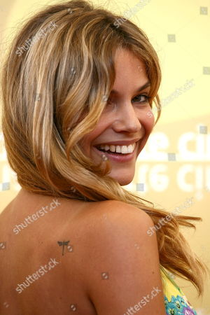 Italian Actress Micaela Ramazzotti Poses For a Photo at the End of the Press Conference to Promote the Movie ''don't Take Any Date For Tonight' by Director Gianluca Maria Tavarelli at the Venice Film Festival Monday 04 September 2006 Italy Venice
