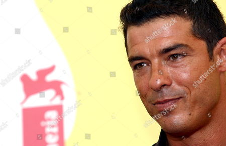 Italian Actor Alessandro Gassmanposes For a Photo at the End of the Press Conference to Promote the Movie ''don't Take Any Date For Tonight' by Director Gianluca Maria Tavarelli at the Venice Film Festival Monday 04 September 2006 Italy Venice
