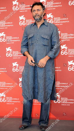 Indian Filmmaker Rakeysh Omprakash Mehra Poses During the Photocall For His Film 'Delhi-6' Presented out of Competition at the Venice Film Festival in Venice Italy 09 September 2009 Italy Venice