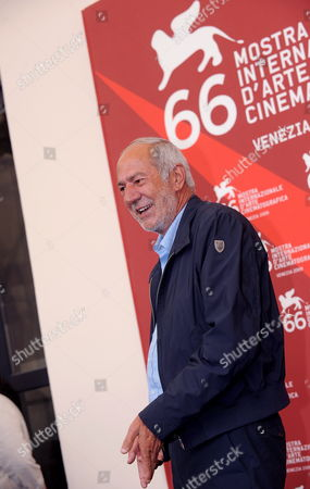 Italian Writer and Politician Mario Capanna Attends a Photocall For the Film 'Il Grande Sogno' During the 66th Venice Film Festival in Venice Italy 09 September 2009 Presented in the Official Competition the Film 'Il Grande Sogno' is Set in Italy in 1968 when Young People Were Dreaming They Could Change the World Capanna was the Leader of the Italian Students' Movement in the Late 1960s and Early 1970s Italy Venice