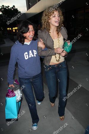 Editorial image of AnnaLynn McCord out and about in Beverly Hills, America - 04 Nov 2008