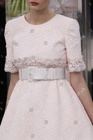 Stock Photo of Alisha Nesvat on the catwalk, detail