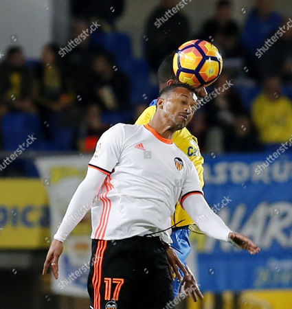 Editorial image of Las Palmas v Valencia, Las Palmas De Gran Canaria, Spain - 30 Jan 2017
