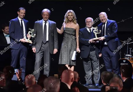 Editorial picture of Italian Footballers Association Grand Gala, Milan, Italy - 30 Jan 2017