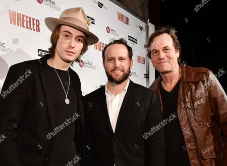 James Paxton, Ryan Ross and Bill Paxton