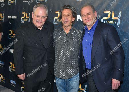 Stock Image of Manny Coto, Brian Grazer, Evan Katz