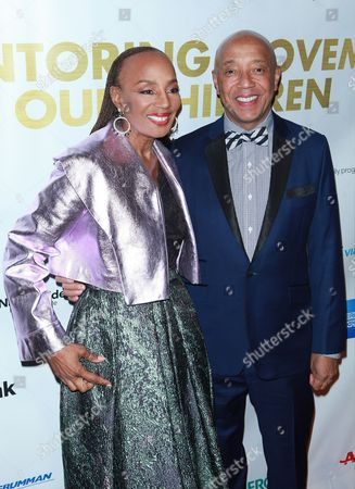 Susan L Taylor and Russell Simmons