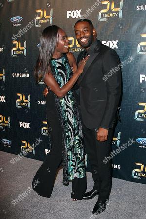 Anna Diop and Ashley Thomas