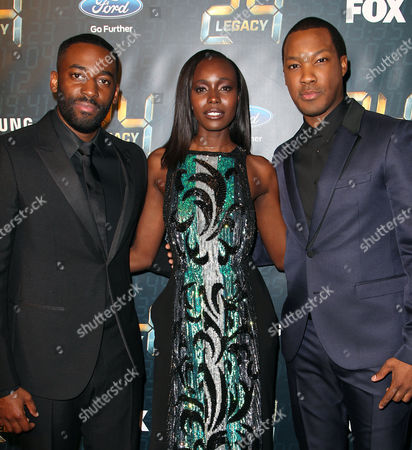 Ashley Thomas, Anna Diop and Corey Hawkins