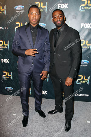 Corey Hawkins and Ashley Thomas