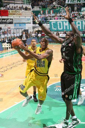 Editorial photo of Italy Basketball Euroleague - Oct 2008